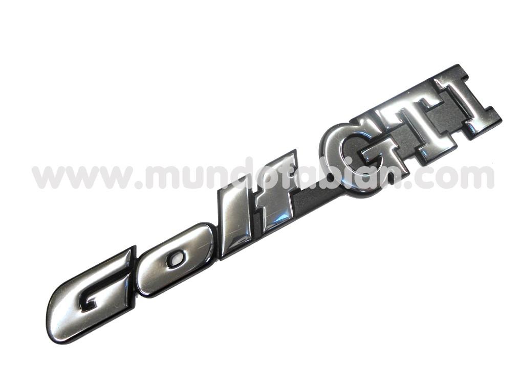 Emblema Golf GTi