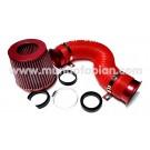 Kit filtro de aire deportivo rojo