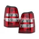 Pilotos cristal transparente/rojo variant